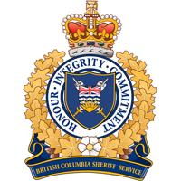 British Columbia Sherif Service Crest